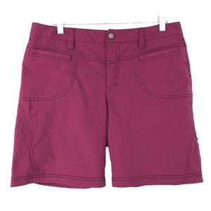 Athleta Dipper Bermuda Shorts Pink Women's Size 12